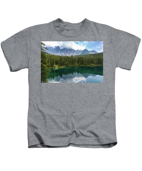 Karersee And Latemar Kids T-Shirt