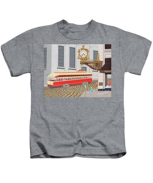 Kaufmann Clock Kids T-Shirt