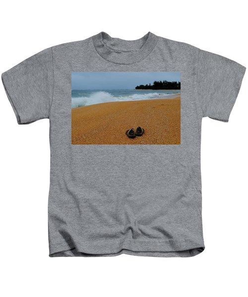 Ke'e Beach Kids T-Shirt