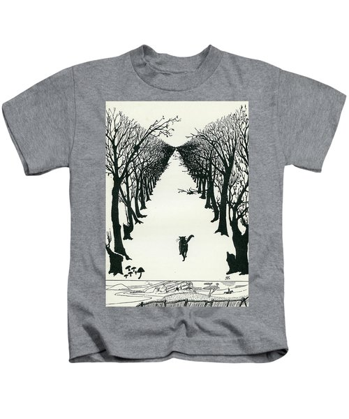 The Cat That Walked By Himself Kids T-Shirt