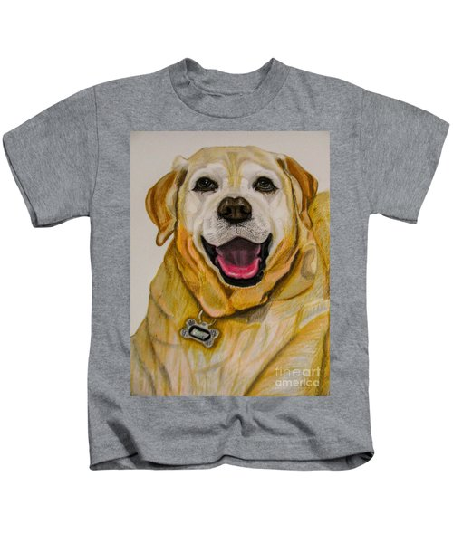 Labrador Retriever Drawing Kids T-Shirt