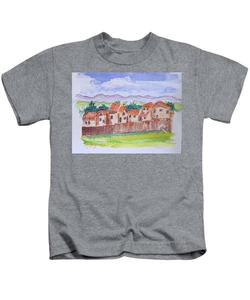 Laguna Del Sol Row Houses Kids T-Shirt