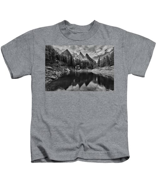 Lake In The Alps Kids T-Shirt