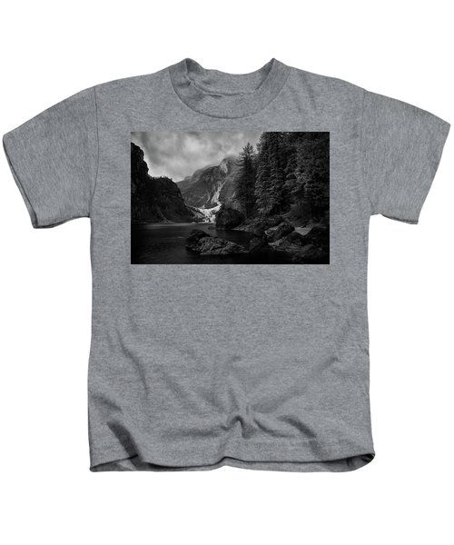 Lake In The Dolomites Kids T-Shirt