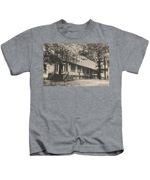 Lake View Hotel On Lake Hopatcong Kids T-Shirt