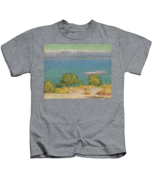 Landscape, Antibes - The Bay Of Nice Kids T-Shirt
