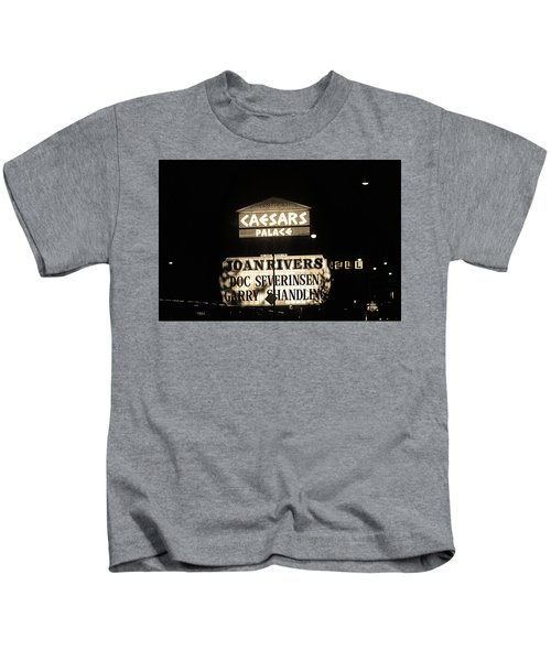 Las Vegas 1984 Sepia #10 Kids T-Shirt