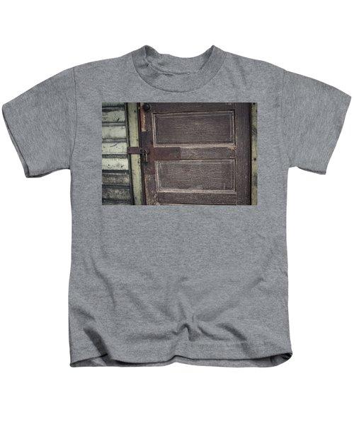 Leather Door Kids T-Shirt