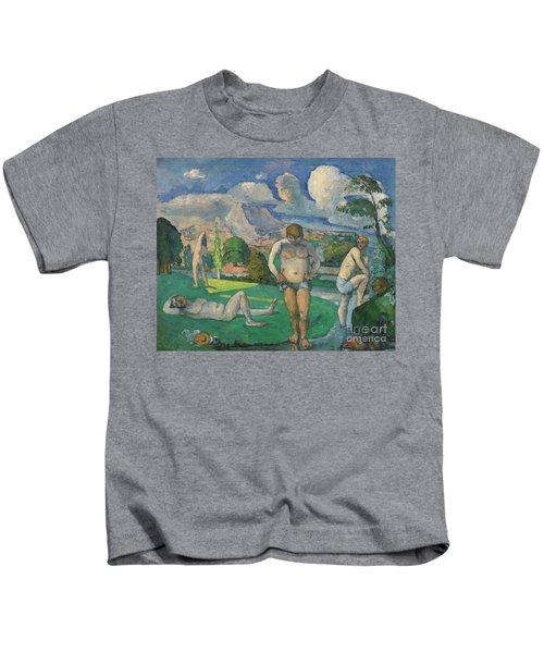 Les Baigneurs Au Repos Kids T-Shirt
