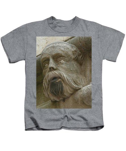 Life Sized Sculptures Of Human Heads Kids T-Shirt
