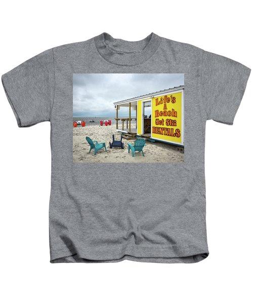 Like's A Beach Kids T-Shirt