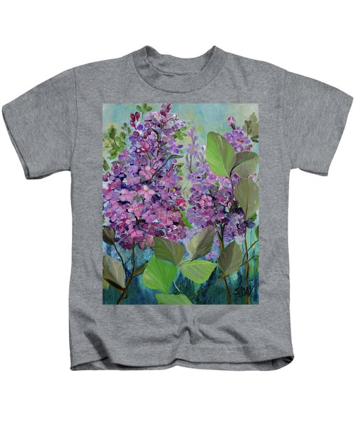 Lilac Love Kids T-Shirt