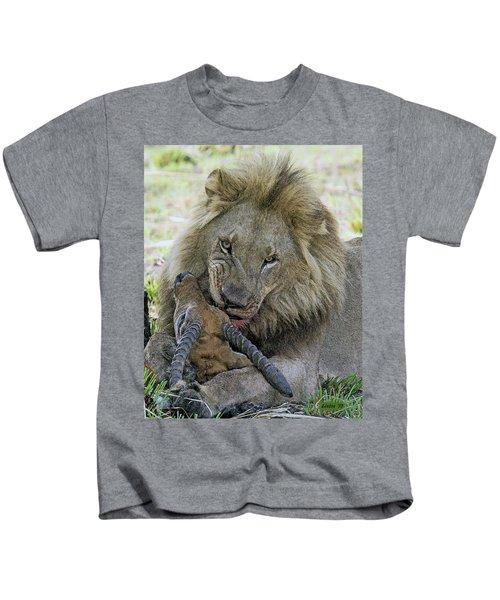 Lion Prey Kids T-Shirt