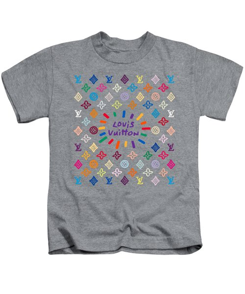 Louis Vuitton Monogram-8 Kids T-Shirt