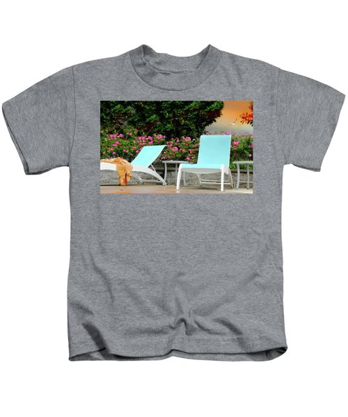 Lounging Kids T-Shirt
