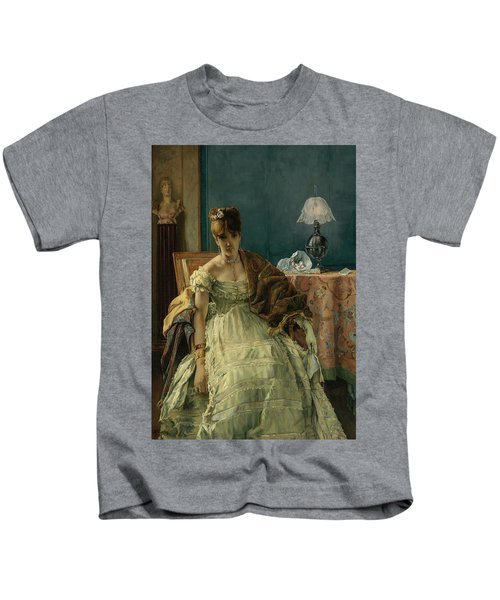 Lovelorn, 19th Century Kids T-Shirt