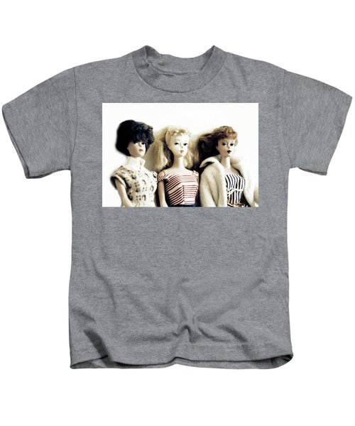 Lovely Old Barbies Kids T-Shirt