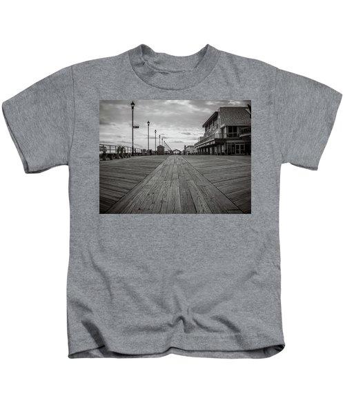 Low On The Boardwalk Kids T-Shirt