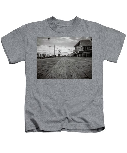 Low On The Boardwalk Kids T-Shirt