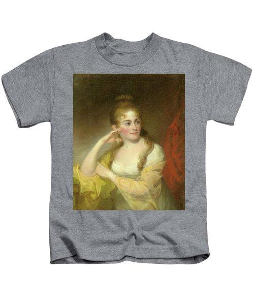 Portrait Of Lydia Leaming, 1806 Kids T-Shirt