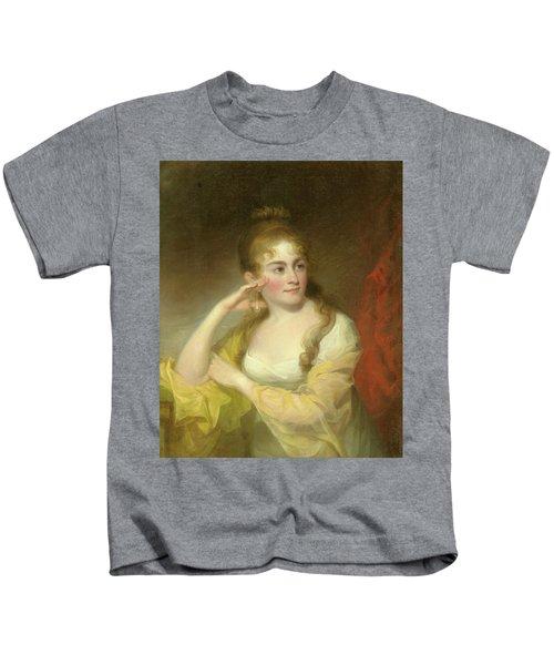 Portrait Of Lydia Leaming, 1806 Kids T-Shirt