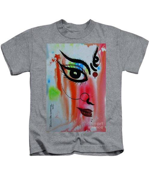 Ma Durga-5 Kids T-Shirt