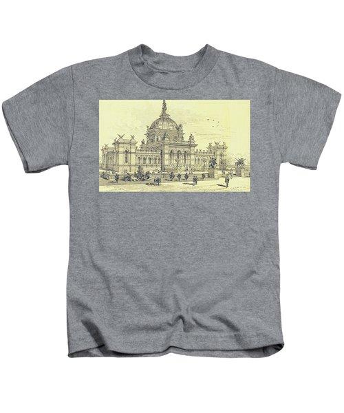Memorial Hall, Centennial Kids T-Shirt
