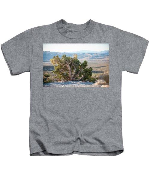 Mesquite In Nevada Desert Kids T-Shirt