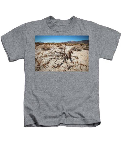 Mesquite In The Desert Sun Kids T-Shirt