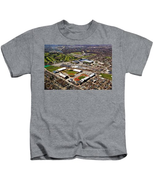 Michigan Stadium Kids T-Shirt