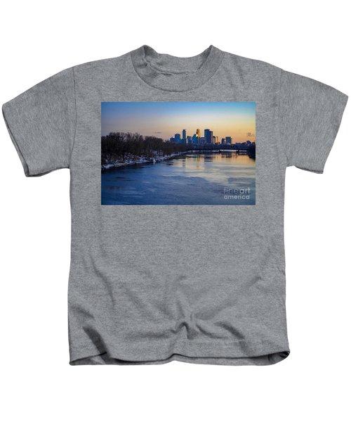 Minneapolis Skyline Kids T-Shirt