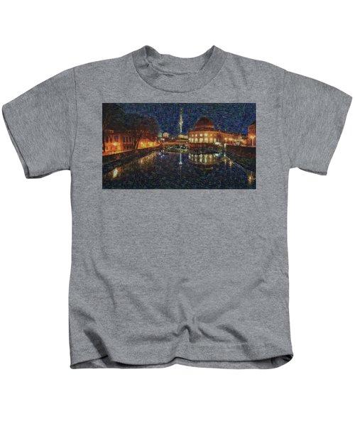 Mist Of Impressionism. Berlin. Kids T-Shirt