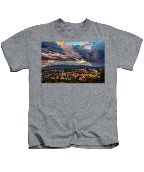 Monsoon Hits Tucson Kids T-Shirt