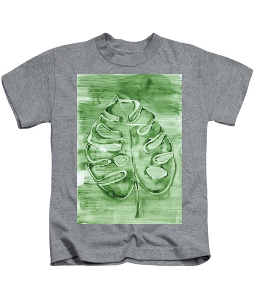Monstera Leaf Kids T-Shirt