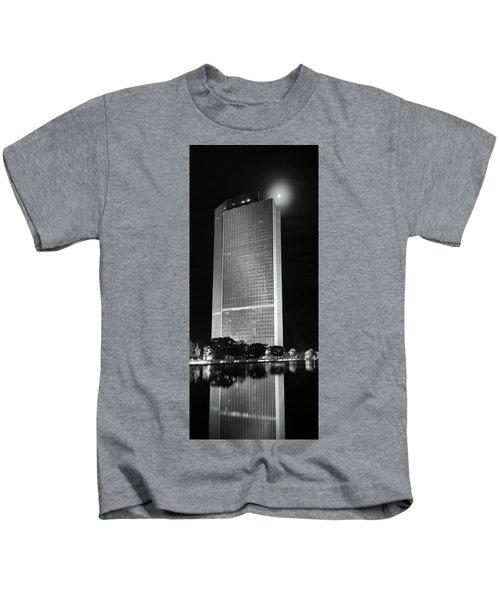 Moon Over Corning Kids T-Shirt