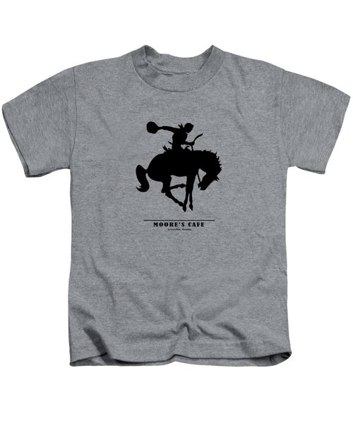 Moores Cafe Wyoming 1946 Kids T-Shirt