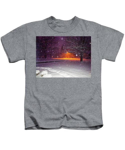 Morning Snow Kids T-Shirt