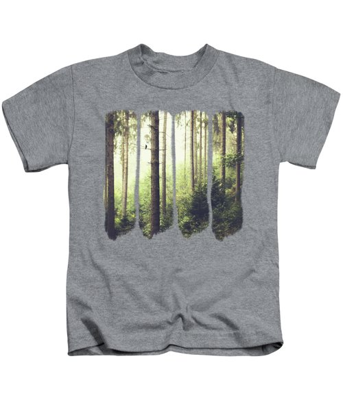 Morning Song - Misty Forest Kids T-Shirt