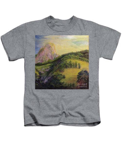 Moro Rock, Kings Canyon Kids T-Shirt