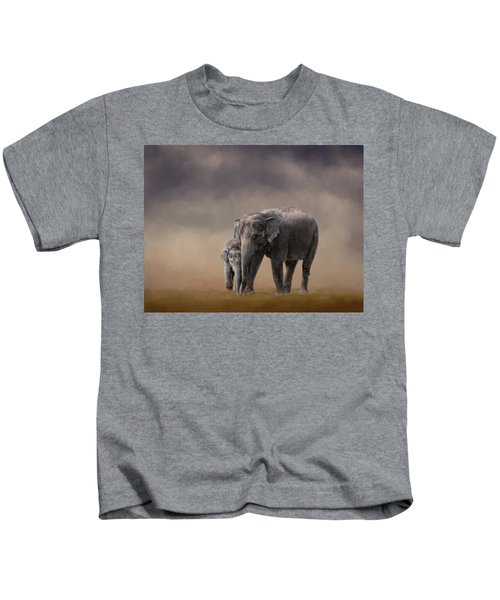 Mother And Son Kids T-Shirt