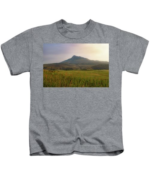 Mountain Sunrise Kids T-Shirt