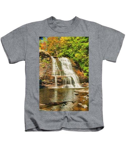 Muddy Creek Falls Kids T-Shirt