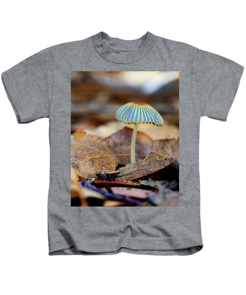 Mushroom Under The Oak Tree Kids T-Shirt