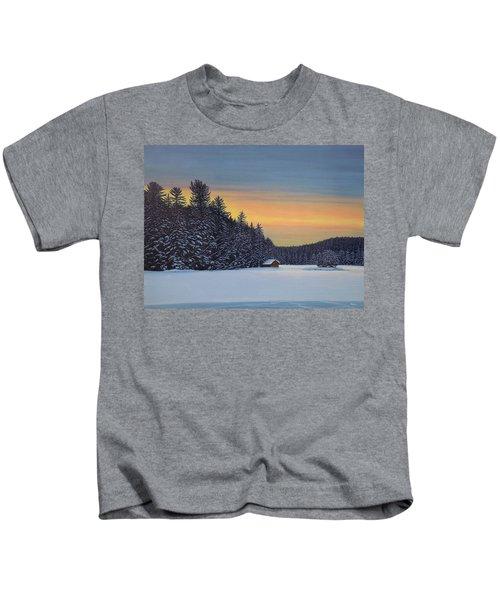Muskoka Winter Kids T-Shirt