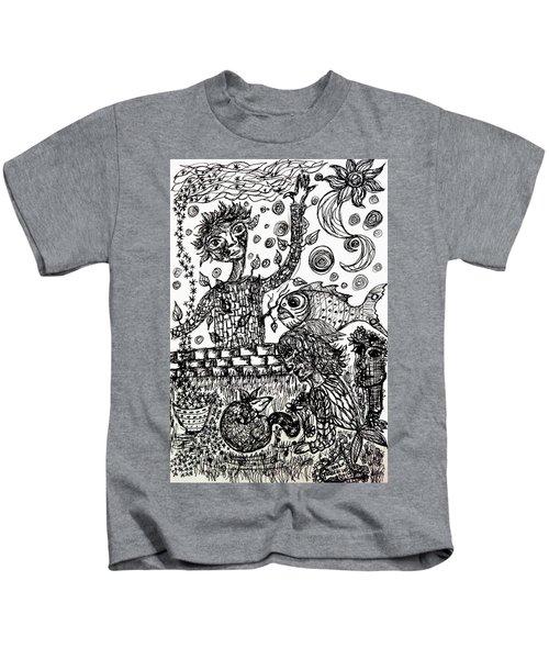 Mute Conversation Kids T-Shirt