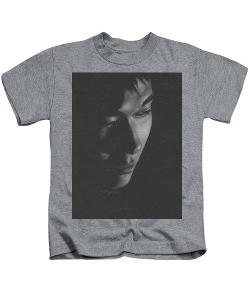 Muted Shadow No. 10 Kids T-Shirt