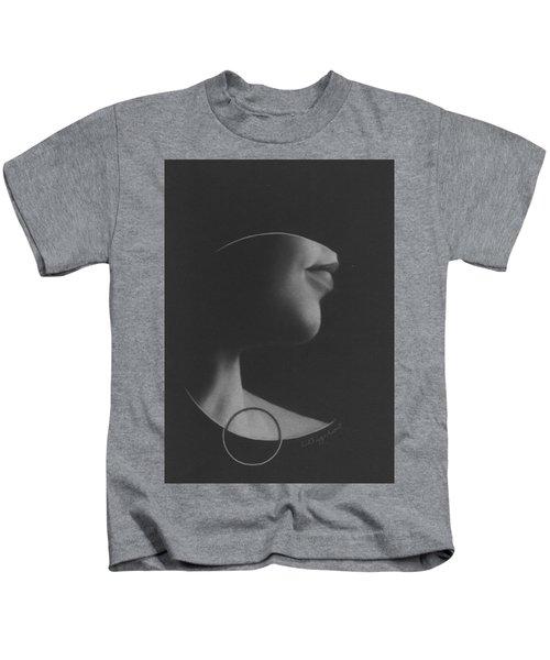 Muted Shadow No. 7 Kids T-Shirt