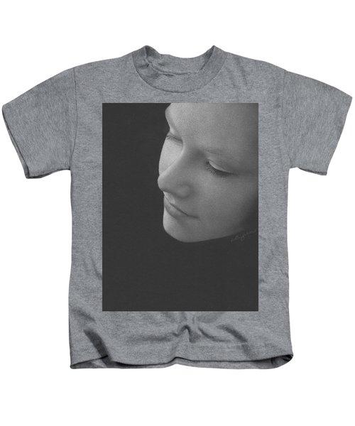 Muted Shadow No. 9 Kids T-Shirt
