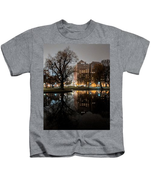 Night Reflection Kids T-Shirt