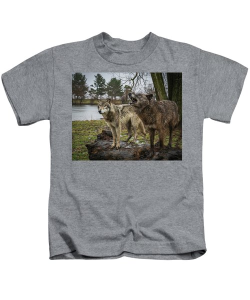 Noisy Wolf Kids T-Shirt